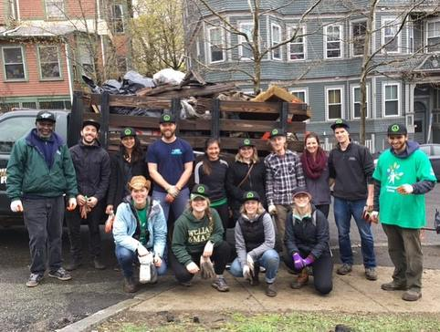 spring clean up 2017 with trash truck!